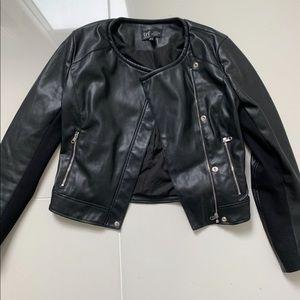 "Zara size small ""leather-esque"" jacket."